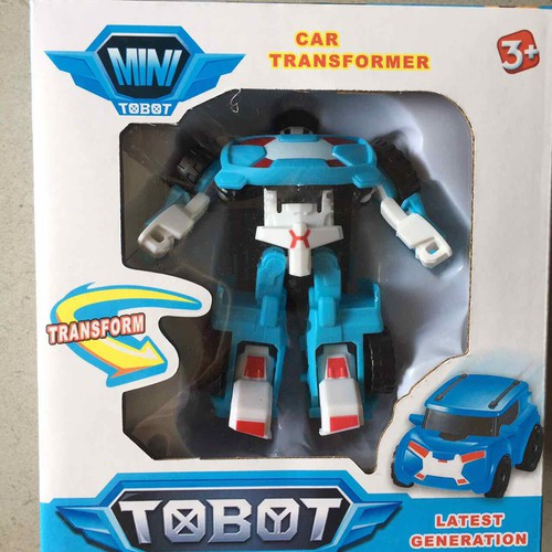 robo tobot - xanh lợt