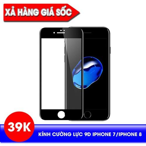 [XẢ HÀNG]_Kính cường lực 9D full màn hình cho iPhone 7, iPhone 8