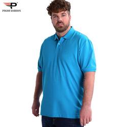 Áo thun nam cổ bẻ Polo Big Size từ 80 đến 110kg cao cấp Pigofashion PB01 -2- chọn màu
