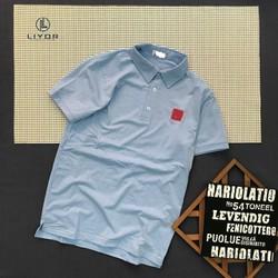 Áo thun nam [ ĐỒNG KIỂM] áo phông nam tay ngắn thêu logo có cổ áo với chất liệu thun cotton cao cấp co giãn 4 chiều và thấm hút mồ hôi