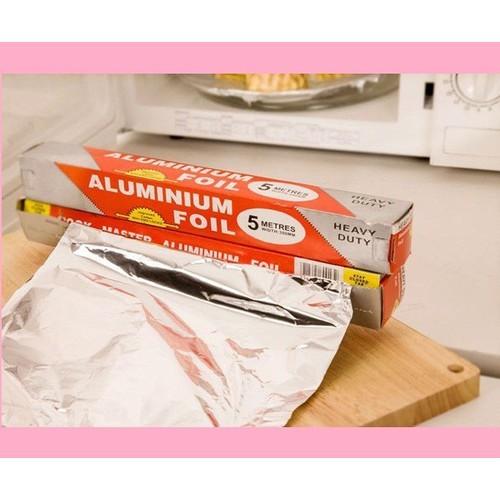 Cuộn giấy bạc bọc thực phẩm 5m - Màng nhôm bọc thực phẩm - 11499171 , 17365666 , 15_17365666 , 19900 , Cuon-giay-bac-boc-thuc-pham-5m-Mang-nhom-boc-thuc-pham-15_17365666 , sendo.vn , Cuộn giấy bạc bọc thực phẩm 5m - Màng nhôm bọc thực phẩm
