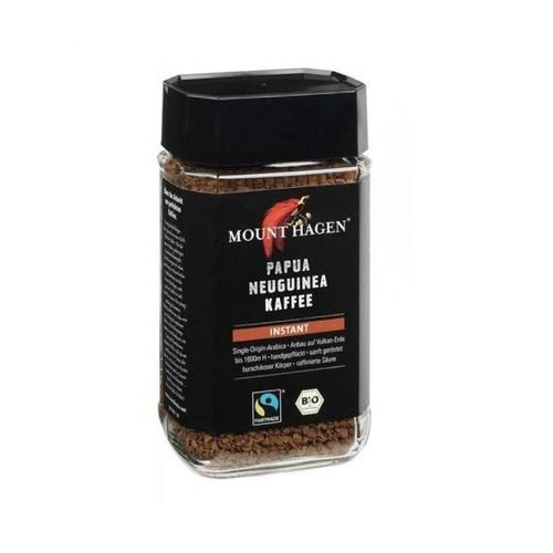 Cà phê hòa tan hữu cơ Papua New Guinea 100g Mount Hagen