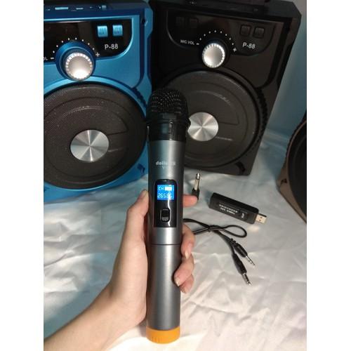 Loa Karaoke Bluetooth với thiết kế nhỏ gọn âm thanh hay + 1 Mic không dây - 4855761 , 17362243 , 15_17362243 , 661000 , Loa-Karaoke-Bluetooth-voi-thiet-ke-nho-gon-am-thanh-hay-1-Mic-khong-day-15_17362243 , sendo.vn , Loa Karaoke Bluetooth với thiết kế nhỏ gọn âm thanh hay + 1 Mic không dây