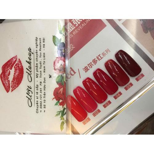 Sơn gel As - Set đỏ nhạt 6 chai - 4866358 , 17384366 , 15_17384366 , 35900 , Son-gel-As-Set-do-nhat-6-chai-15_17384366 , sendo.vn , Sơn gel As - Set đỏ nhạt 6 chai