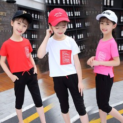 Bộ quần áo cho bé gái từ 6-10 tuổi 20-35kg, dễ thương chất đẹp