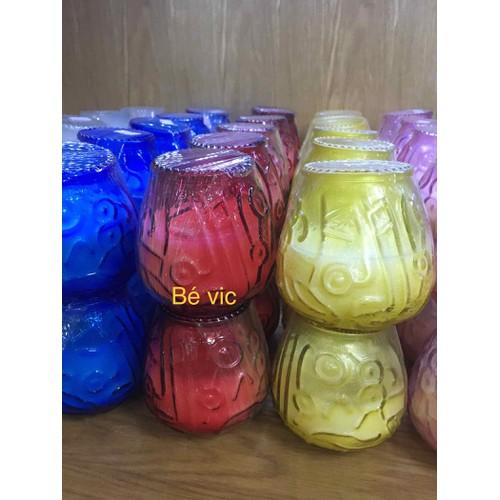 Nến ly màu - 4867595 , 17386045 , 15_17386045 , 52000 , Nen-ly-mau-15_17386045 , sendo.vn , Nến ly màu