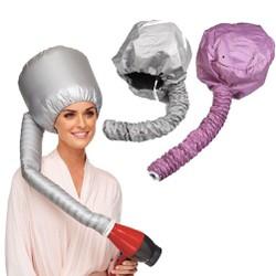 Mũ hấp tóc dùng máy sấy nóng