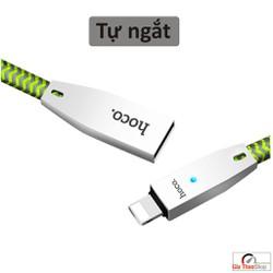 Cáp sạc HOCO U11 chống đứt đèn led cho Iphone Ipad 1,2M, HocoU11 - Gia Thảo