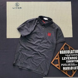 Áo thun nam [ĐỒNG KIỂM] áo phông nam cao cấp có cổ thêu logo với chất liệu thun cotton thấm hút mồ hôi và co giãn 4 chiều