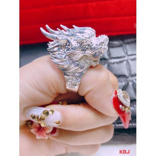 Nhẫn bạc nam hình đầu rồng cao cấp - 7666004 , 17385277 , 15_17385277 , 600000 , Nhan-bac-nam-hinh-dau-rong-cao-cap-15_17385277 , sendo.vn , Nhẫn bạc nam hình đầu rồng cao cấp