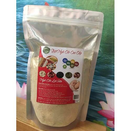 Ngũ cốc siêu lợi sữa 1 kg 15 loại hạt