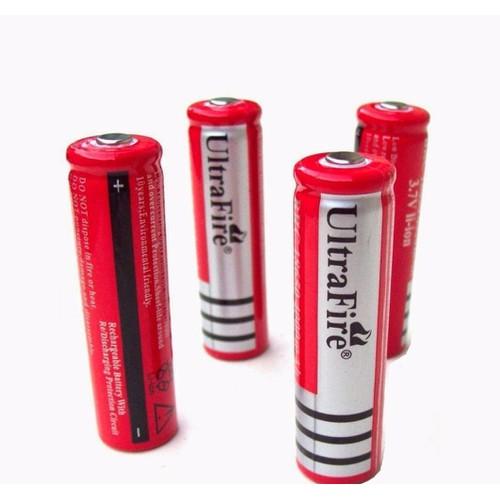 Pin UltraFire loại lớn 4200 dùng cho máy trợ giảng, đèn đội đầu, loa..v..