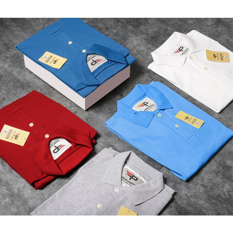 Áo thun nam cổ bẻ chuẩn mọi phong cách Pigofashion AB19 - 3 - nhiều màu 2