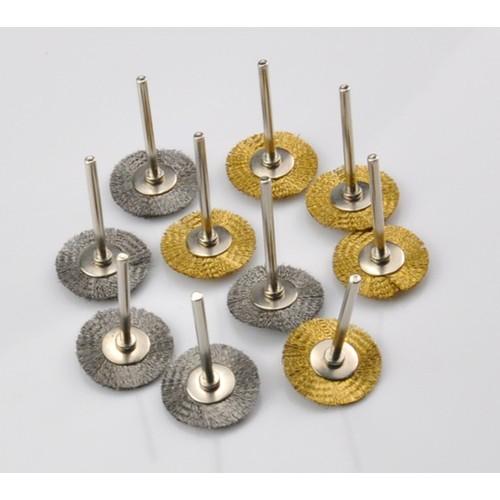 Bộ 2 chổi đồng , thép mini kiểu dĩa đánh rỉ sét chi tiết nhỏ dùng cho khoan điện đa năng cầm tay [ 2 cái] - 4864751 , 17381897 , 15_17381897 , 27900 , Bo-2-choi-dong-thep-mini-kieu-dia-danh-ri-set-chi-tiet-nho-dung-cho-khoan-dien-da-nang-cam-tay-2-cai-15_17381897 , sendo.vn , Bộ 2 chổi đồng , thép mini kiểu dĩa đánh rỉ sét chi tiết nhỏ dùng cho khoan điện
