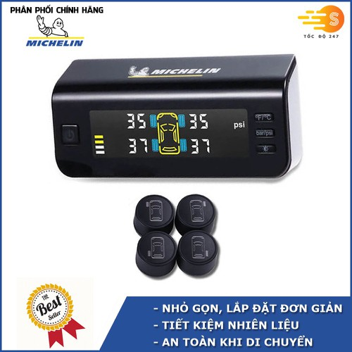 Hệ thống cảm biến đo áp suất lốp năng lượng mặt trời cho ô tô Michelin 4834 - 11499290 , 17366030 , 15_17366030 , 3358000 , He-thong-cam-bien-do-ap-suat-lop-nang-luong-mat-troi-cho-o-to-Michelin-4834-15_17366030 , sendo.vn , Hệ thống cảm biến đo áp suất lốp năng lượng mặt trời cho ô tô Michelin 4834