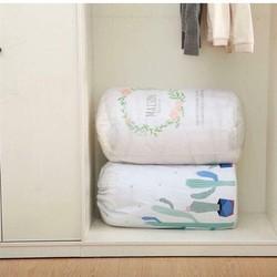 Bộ 2 túi đựng chăn màn quần áo đa năng có dây rút
