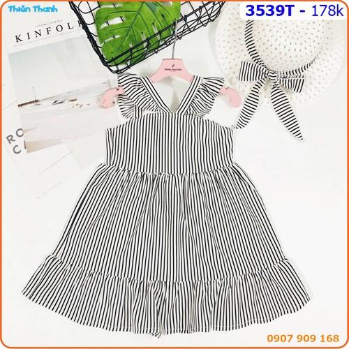 Set váy lụa kèm nón rộng vành cùng tông cực đỉnh _ 3539