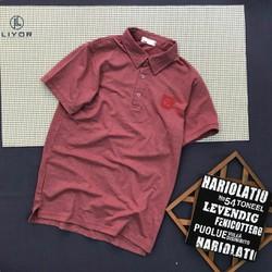 Áo thun nam [ĐỒNG Kiểm] áo phông nam có cổ cao cấp thêu logo có chất liệu thun cotton cao cấp co giãn 4 chiều và thấm hút mồ hôi