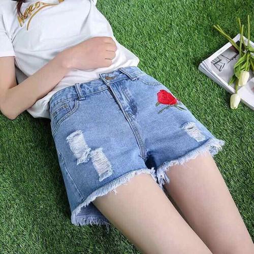 quần jeans sort - ẢNH THẬT MUA 2 CÒN 89k