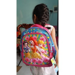 Balo trẻ em đi học Tặng kèm Khẩu trang