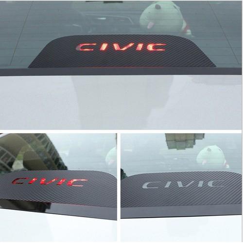 Decal dán đèn thắng sau kính xe ô tô Civic