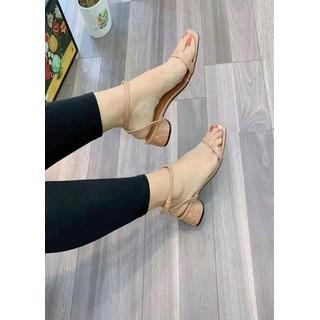Giày Sandan Nữ Bản 1 Dây Gót Hoa Siêu Hót - Gothoa thumbnail