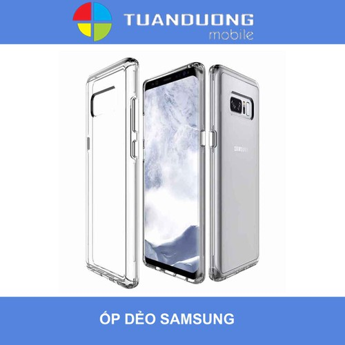 ỐP DẺO TRONG SAMSUNG NOTE8