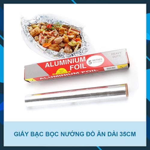 Cuộn giấy bạc bọc thực phẩm 5m - Màng nhôm bọc thực phẩm - 11508104 , 17393266 , 15_17393266 , 19000 , Cuon-giay-bac-boc-thuc-pham-5m-Mang-nhom-boc-thuc-pham-15_17393266 , sendo.vn , Cuộn giấy bạc bọc thực phẩm 5m - Màng nhôm bọc thực phẩm