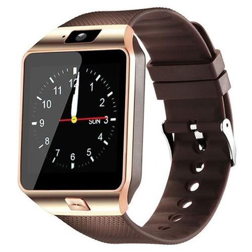 Đồng hồ thông minh đồng hồ thông minh DZ09 vàng đồng tặng kèm sim cho đồng hồ