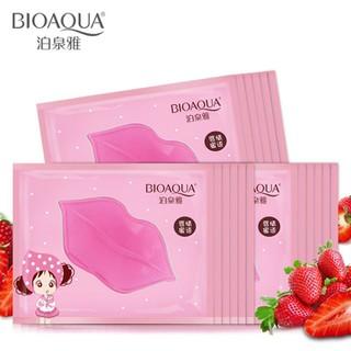 Mask môi BIOAQUA set 10 miếng - mask moi bioaqua 2