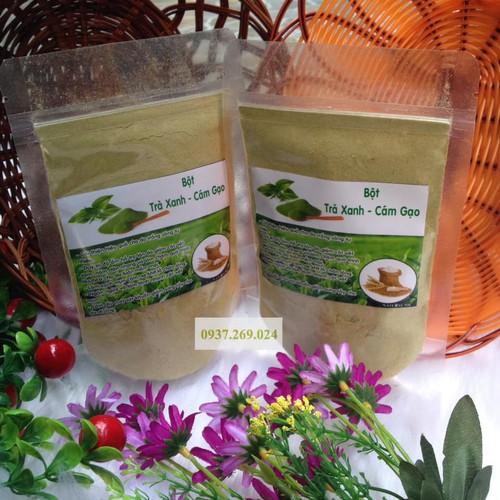 Combo 2 Gói Bột cám gạo trà xanh 100gr