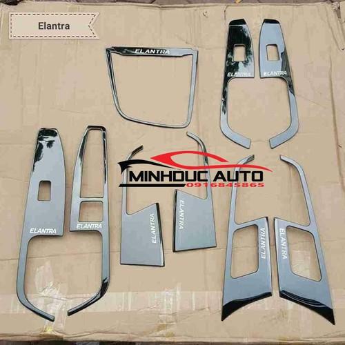 Ốp nội thất titan cao cấp Hyundai Elantra 16-19