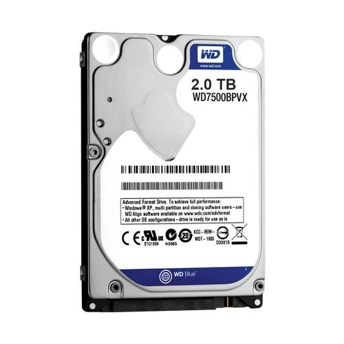 Ổ cứng gắn trong dành cho Laptop HDD Western Blue 2TB SATA 6Gb.s