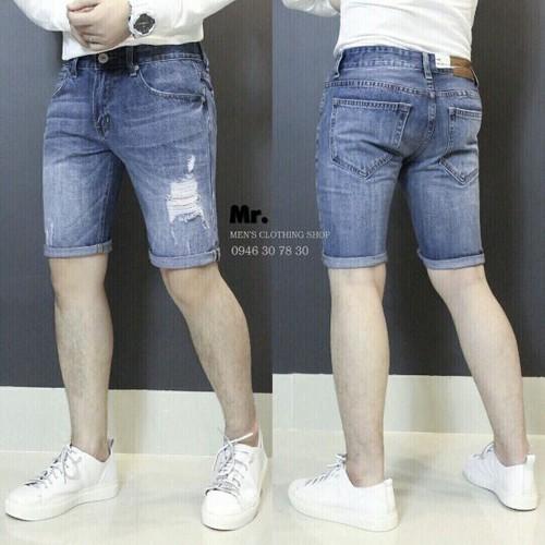 Quần Short Jean Nam JN333