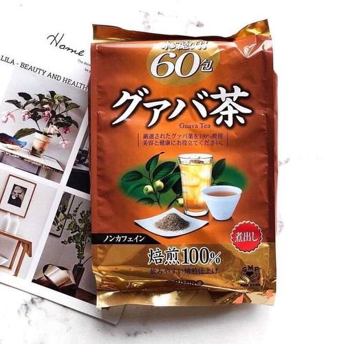 Trà lá ổi giảm cân Orihiro Guava Tea xuất xứ Nhật Bản 60 gói Tốt cho sức khỏe - 11120367 , 17389610 , 15_17389610 , 149000 , Tra-la-oi-giam-can-Orihiro-Guava-Tea-xuat-xu-Nhat-Ban-60-goi-Tot-cho-suc-khoe-15_17389610 , sendo.vn , Trà lá ổi giảm cân Orihiro Guava Tea xuất xứ Nhật Bản 60 gói Tốt cho sức khỏe