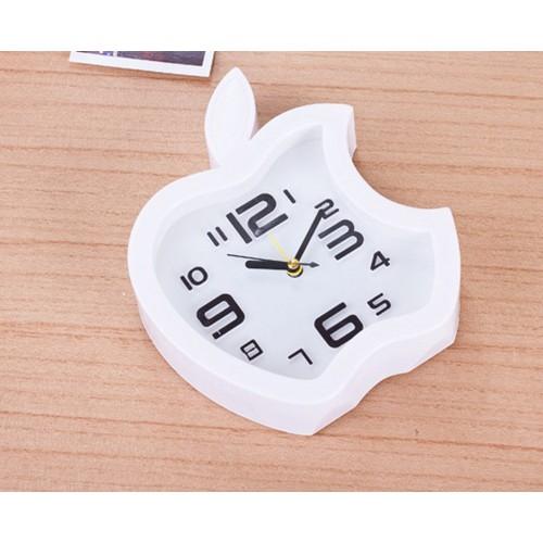 Đồng hồ để bàn hình Clock hình quả táo khuyết có báo thức hẹn giờ