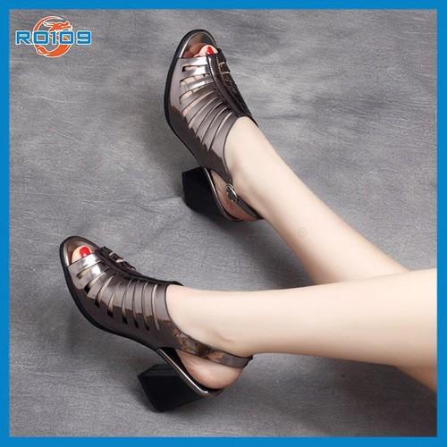 Giày cao gót hở mũi nữ đẹp hàng hiệu ROSATA - 4678229 , 17409077 , 15_17409077 , 700000 , Giay-cao-got-ho-mui-nu-dep-hang-hieu-ROSATA-15_17409077 , sendo.vn , Giày cao gót hở mũi nữ đẹp hàng hiệu ROSATA