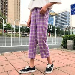 quần sweatpants caro cá tính Mã: QD1892