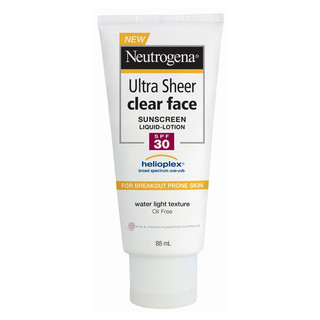 Kem chống nắng cho da mặt Neutrogena Ultra Sheer Clear Face Lotion SPF30 88mL - neutrogena_facespf30 thumbnail