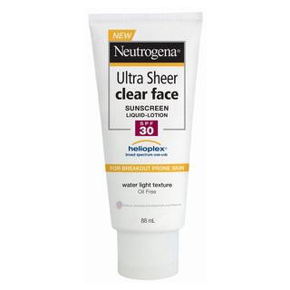 Kem chống nắng cho da mặt Neutrogena Ultra Sheer Clear Face Lotion SPF30 88mL - neutrogena_facespf30 1
