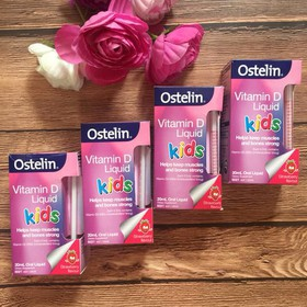 Ostelin Vitamin D Kids Liquid Vitamin D dạng nước cho bé - VTMDOstelin