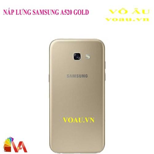 NẮP LƯNG SAMSUNG A520 MÀU GOLD