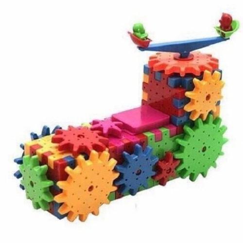Bộ đồ chơi xếp hình bằng nhựa