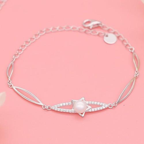 Lắc Tay Bạc Ý S925 Bảo Ngọc Jewelry Sang Chảnh L-1515