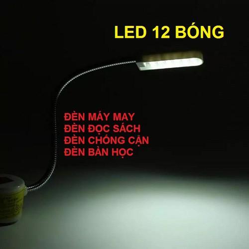Đèn led đọc sách - đèn bàn học làm việc - đèn máy may - đèn chống cận