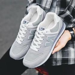 [ GIÁ SỐC ] Giày THỂ THAO Nam G2 – XÁM- phong cách trẻ trung năng động dễ phối đồ đi dạo , đi chơi, đi làm 2019