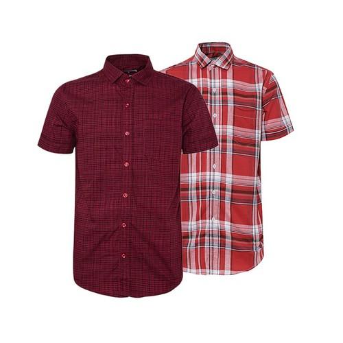 Combo 2 áo sơ mi nam sọc caro phong cách mới SMC171