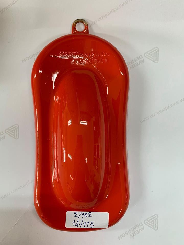 115 _ Sơn xit Samurai 115  màu cam sáng  Light Scarlet  giá rẻ, Tốt , ship nhanh 5