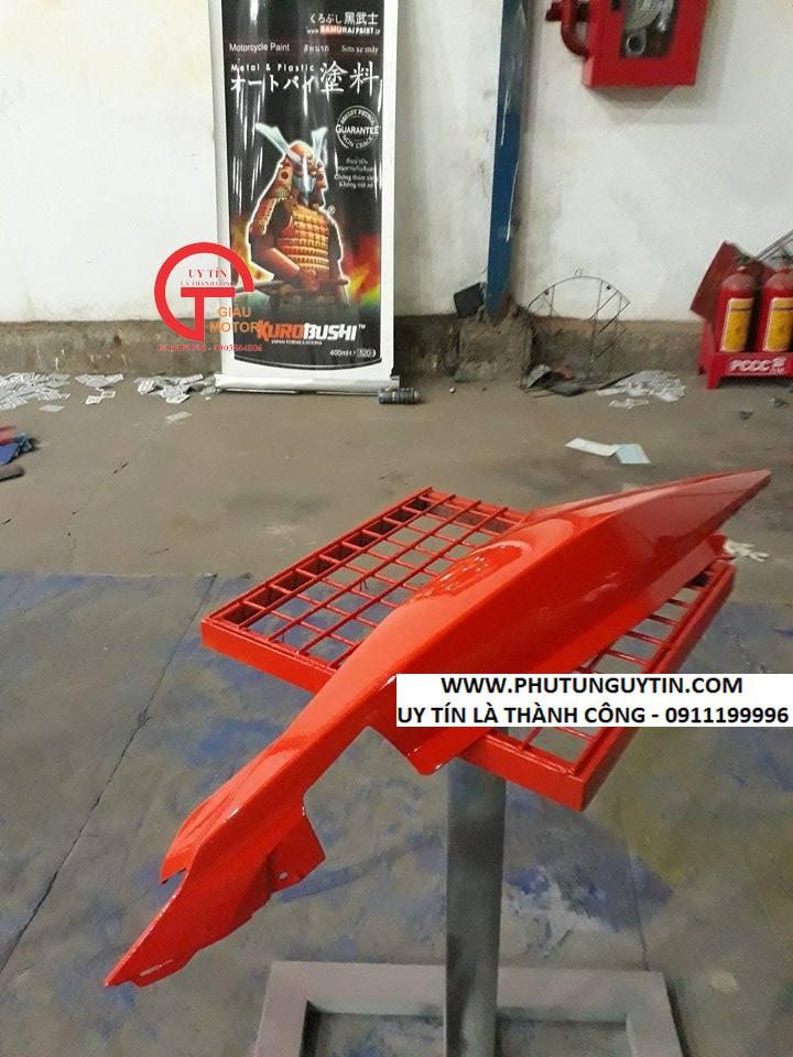 115 _ Sơn xit Samurai 115  màu cam sáng  Light Scarlet  giá rẻ, Tốt , ship nhanh 9
