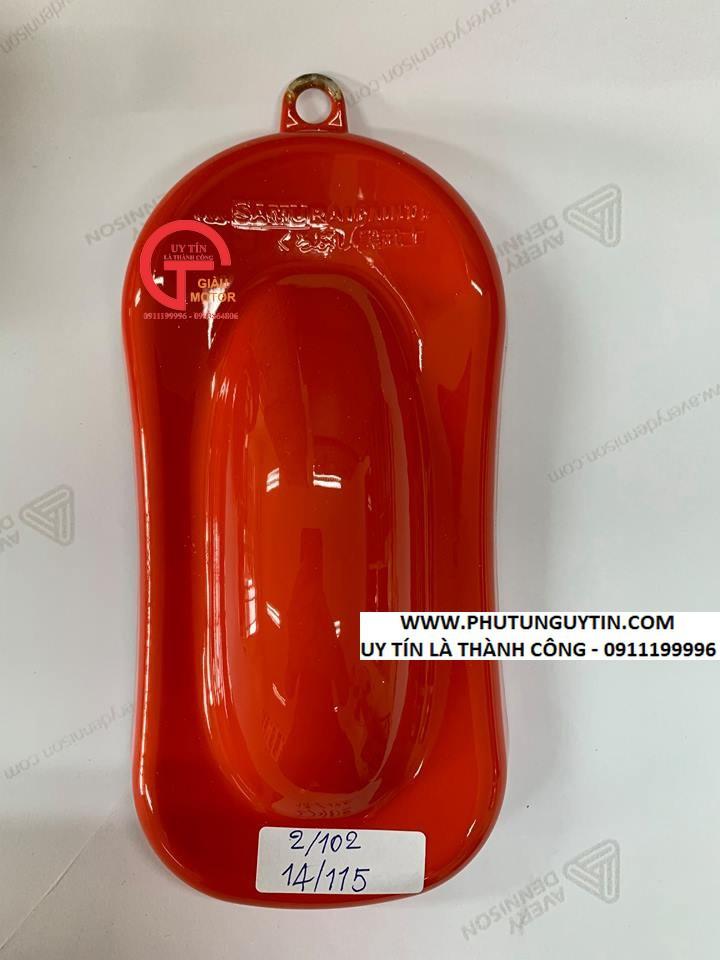 115 _ Sơn xit Samurai 115  màu cam sáng  Light Scarlet  giá rẻ, Tốt , ship nhanh 10